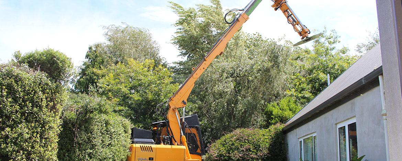 Difficult Job Tree Trimming
